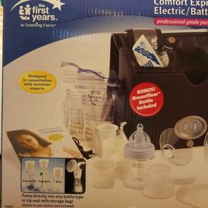 First Years Accessories - Comfort Express Single/Electric Battery BreastPumP